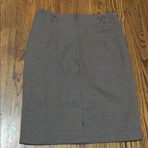 H&M Skirts - Tweed fitted skirt with button detail